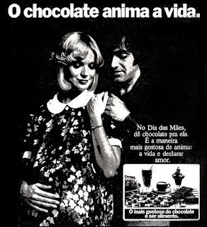 chocolate,  os anos 70; propaganda na década de 70; Brazil in the 70s, história anos 70; Oswaldo Hernandez;