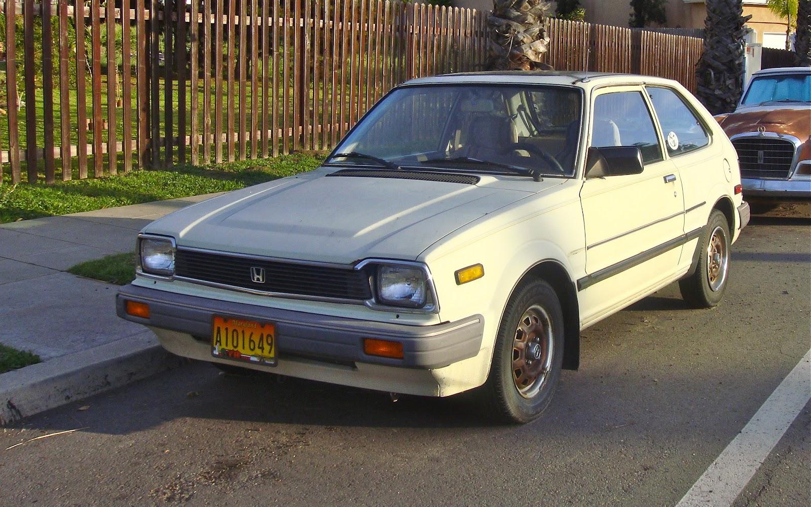 THE STREET PEEP: 1983 Honda Civic 1500DX