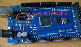 Arduino CH340G driver