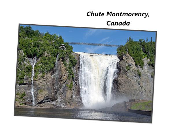 La chute Montmorency au Canada