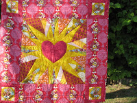 Love Emblem quilt