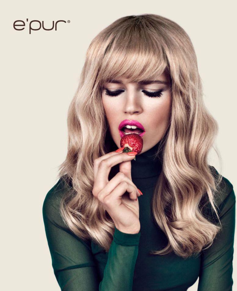 Polish Models Blog: Ad Campaign: Ola Rudnicka for E'pur, S/S 2012