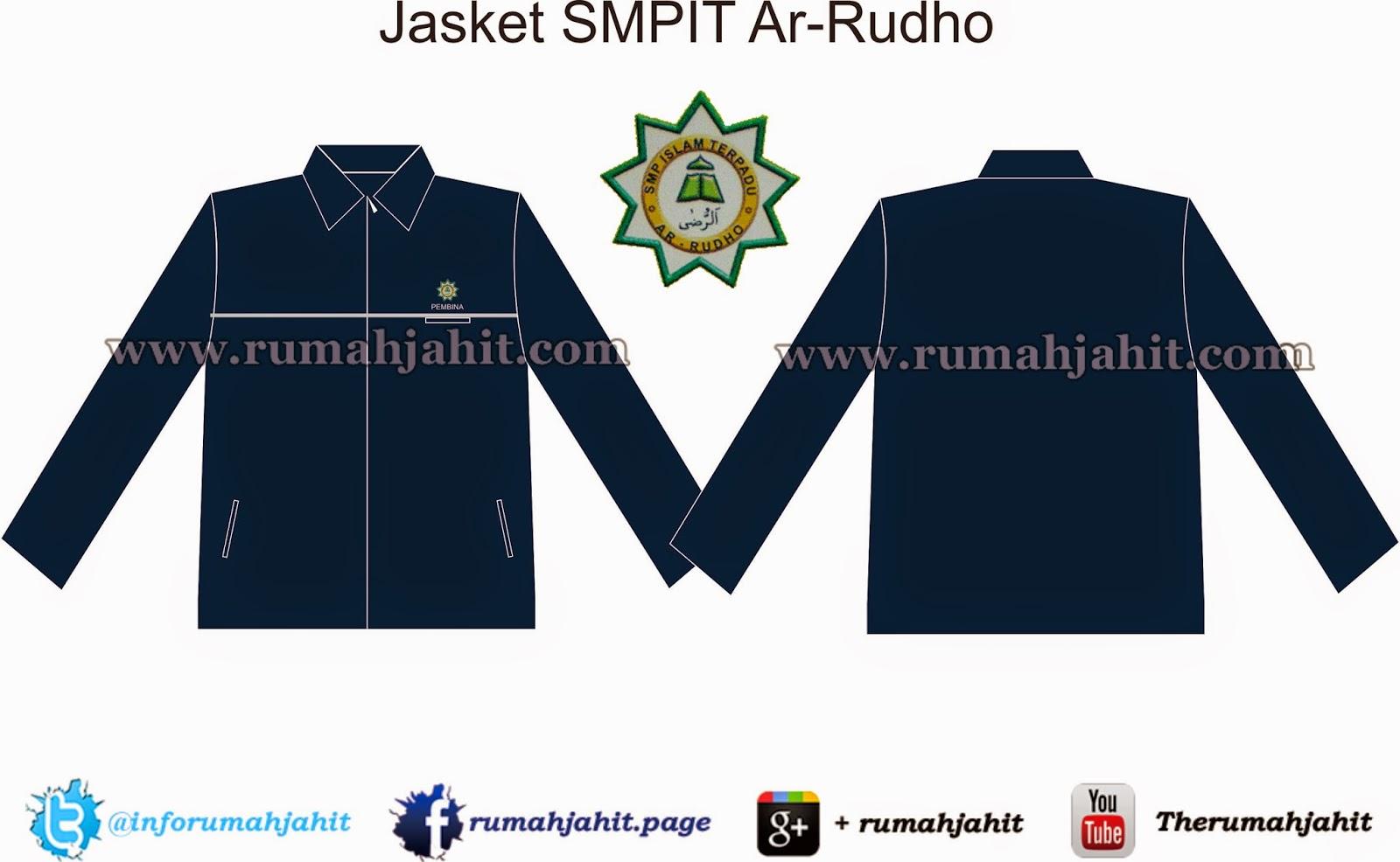 Jasket SMPIT Ar-Rudho | Desain Seragam 2018