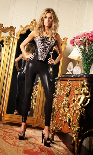 Women's Sophia Corset with Side Buckles