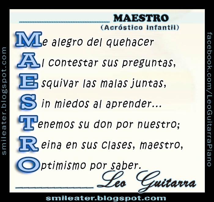 Poemas Para Maestros