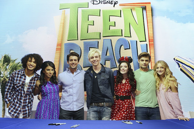 "DISNEY CHANNEL'S ROSS LYNCH LEADS ""TEEN BEACH MOVIE"" CAST SIGNING & R5 PERFORMANCE AT #D23EXPO"