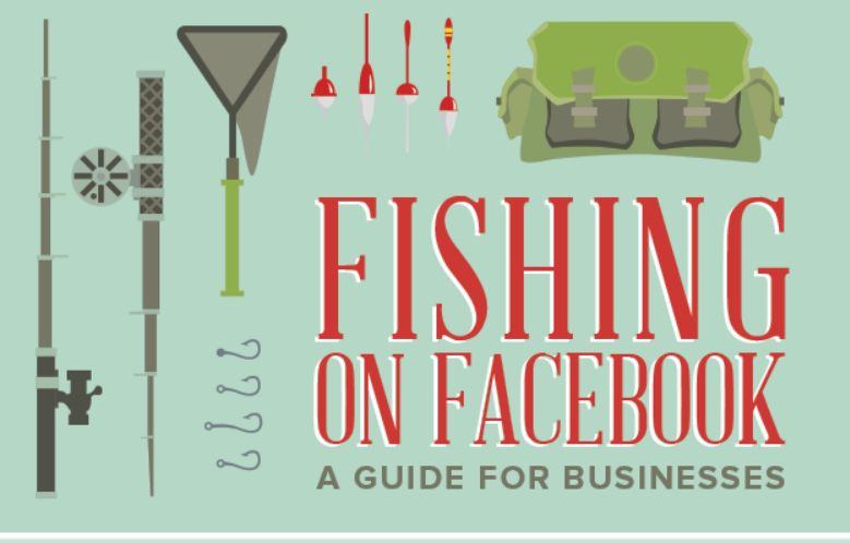 Facebook fishing guide for businesses infographic for Fish world on facebook