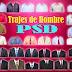 29 plantillas de trajes formales para hombre en PSD