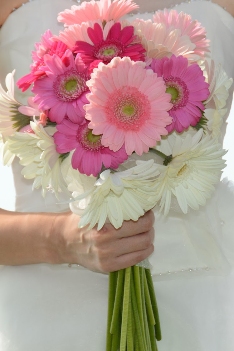 Hawaii Wedding Flowers Gerbera Daisy Bouquet