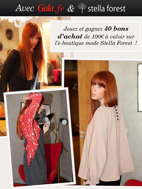 40 bons d'achat de 100 euros sur le site Stella Forets