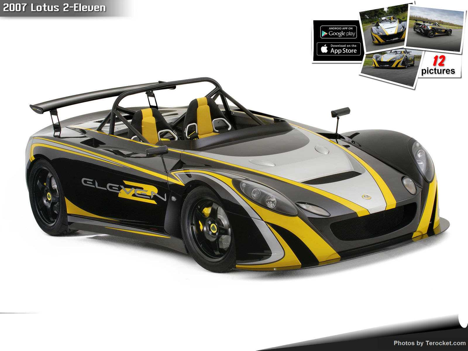 Hình ảnh siêu xe Lotus 2-Eleven 2007 & nội ngoại thất
