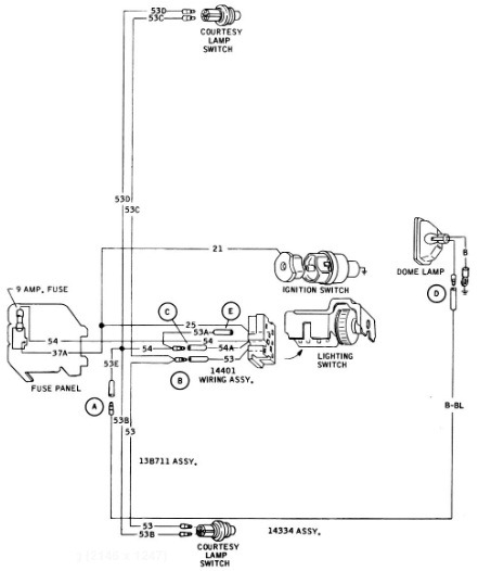 53 ford f100 wiring diagram