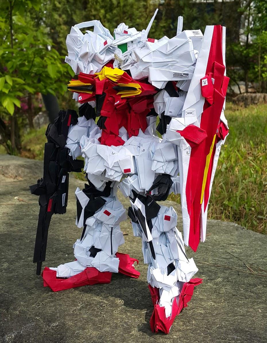 Gundam Papercraft RMS 179 GM II Origami