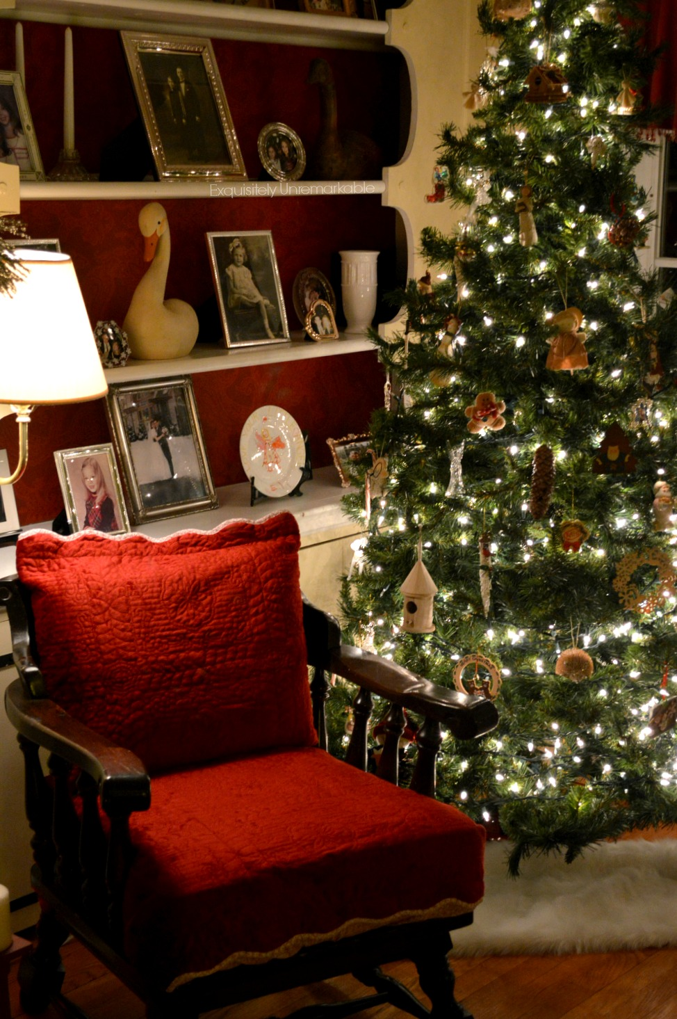 Living Room Christmas Decor