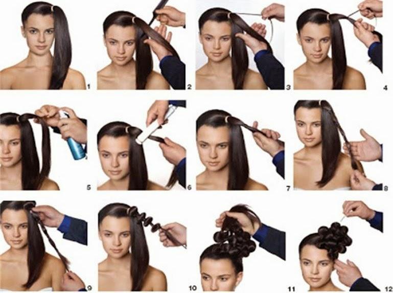 Cb novias peinados faciles para hacerse una misma - Peinados para hacerse una misma ...