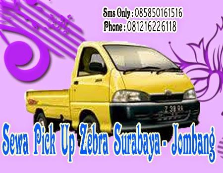 Sewa Pick Up Zebra Surabaya - Jombang