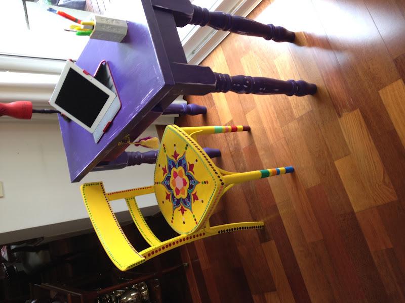 Vintouch muebles reciclados pintados a mano for Muebles pintados a mano fotos