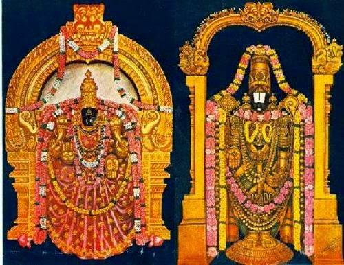 Lord Venkateswara & Sri Padmavathi