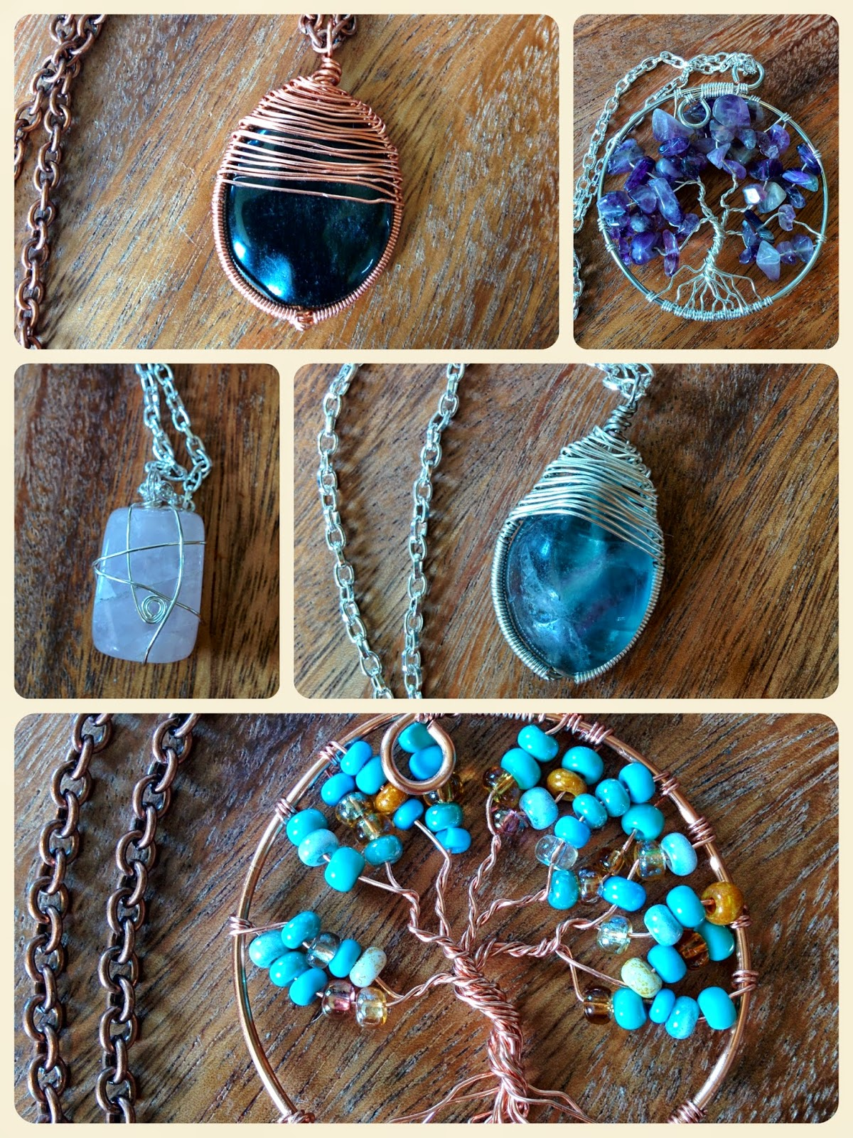 handmade wire jewelry by tinsnips & scissors