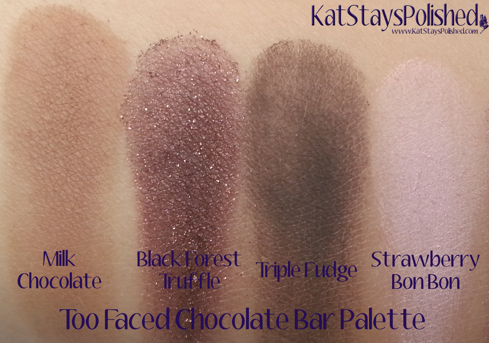 Too Faced Chocolate Bar Palette | Kat Stays Polished