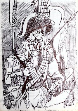 Soldado de la musica