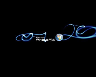 black wallpapers for vista