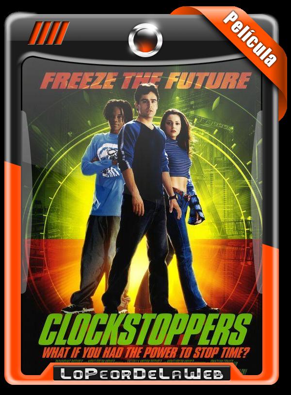 Clockstoppers, Detener el Tiempo (2002) 720p H264 Dual