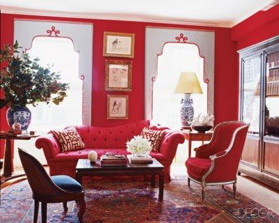 Contoh Gambar Warna Cat Dinding Interior Ruang Tamu