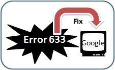 Solve fix rid error 633 the modem or other connecting device is already in use or is not configured properly