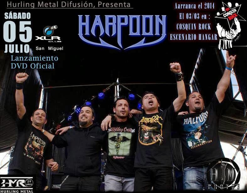 HARPOON lanzamiento de DVD