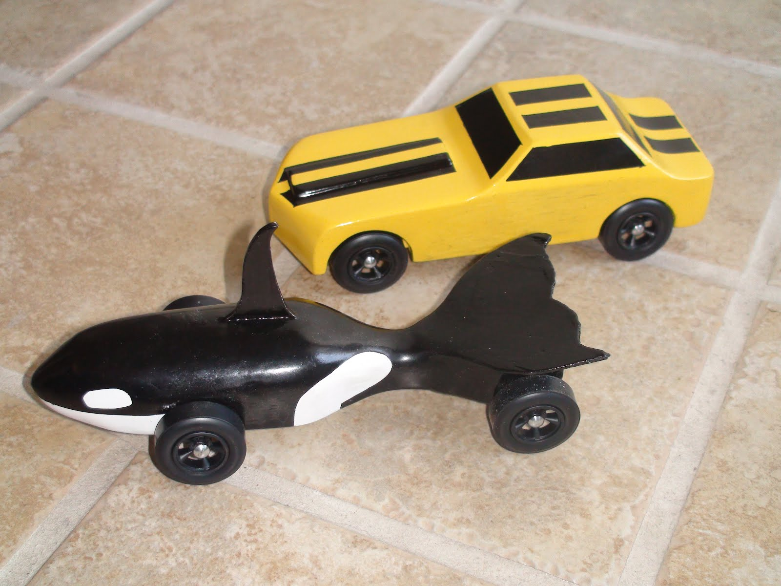 The Harker Family Pinewood Derby