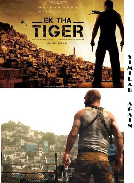 Ek tha tiger poster images
