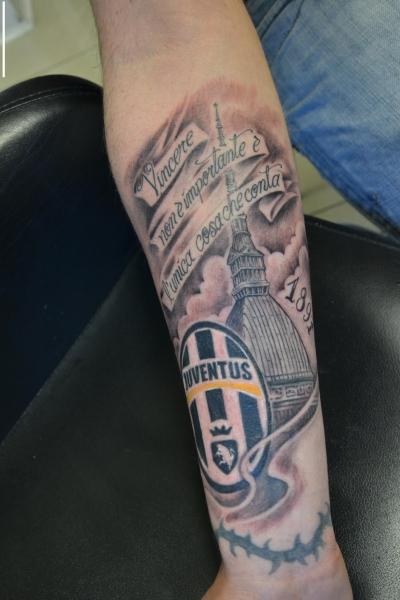Tatuaje Juventus