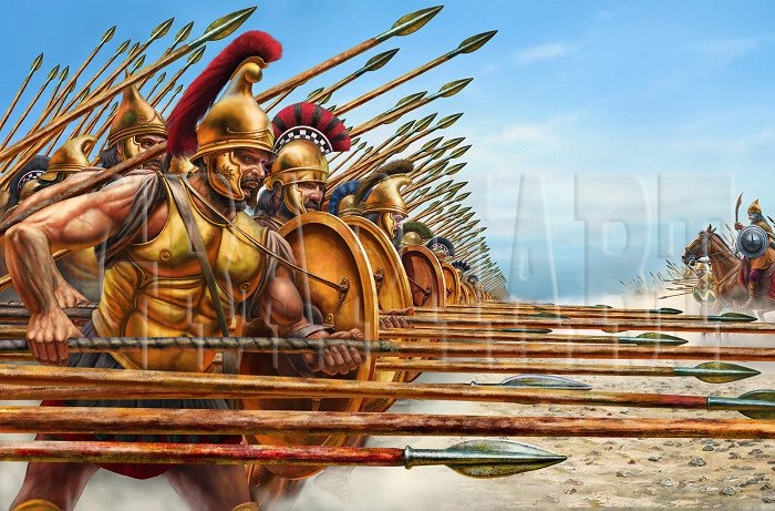 the greek phalanx vs the roman Unlike the greek hoplite phalanx which comes from centuries of tradition  this is compared to greek armies mostly composed of militia  after the roman conquest of the macedonian kingdoms the phalanx basically.