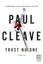 Book Review: TRUST NO ONE by Paul Cleave