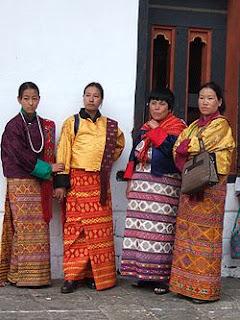 bhutanese kira national costumes textiles