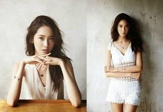 Sisi Misterius Nan Elegan YoonA SNSD di Cover Majalah Perhiasan