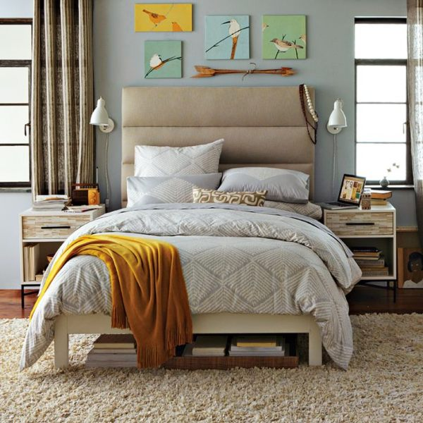 modern bedroom Decoration ideas photo