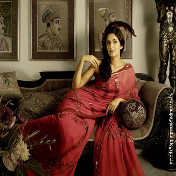 katrina kaif wallpapers in saree