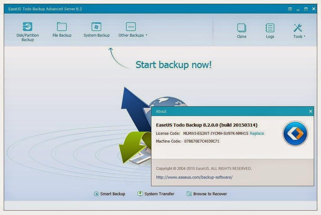 easeus todo backup advanced server 8.2