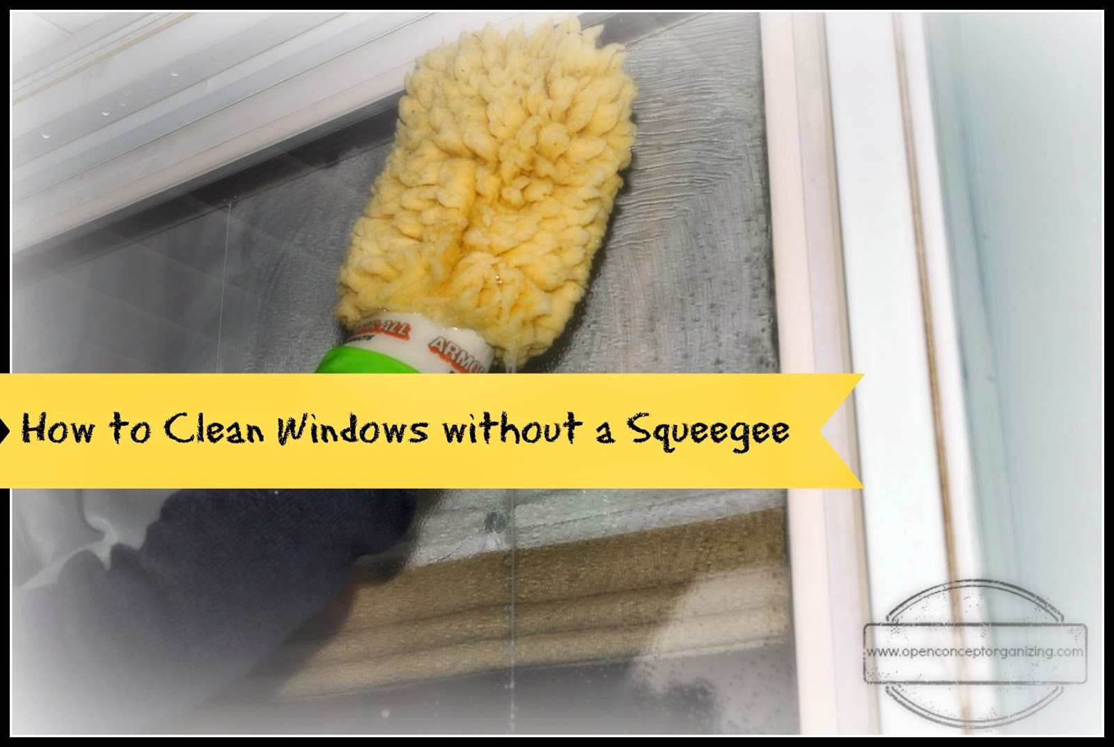 how to make window washing solution
