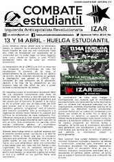 COMBATE ESTUDIANTIL DE IZAR (Abril 2016)