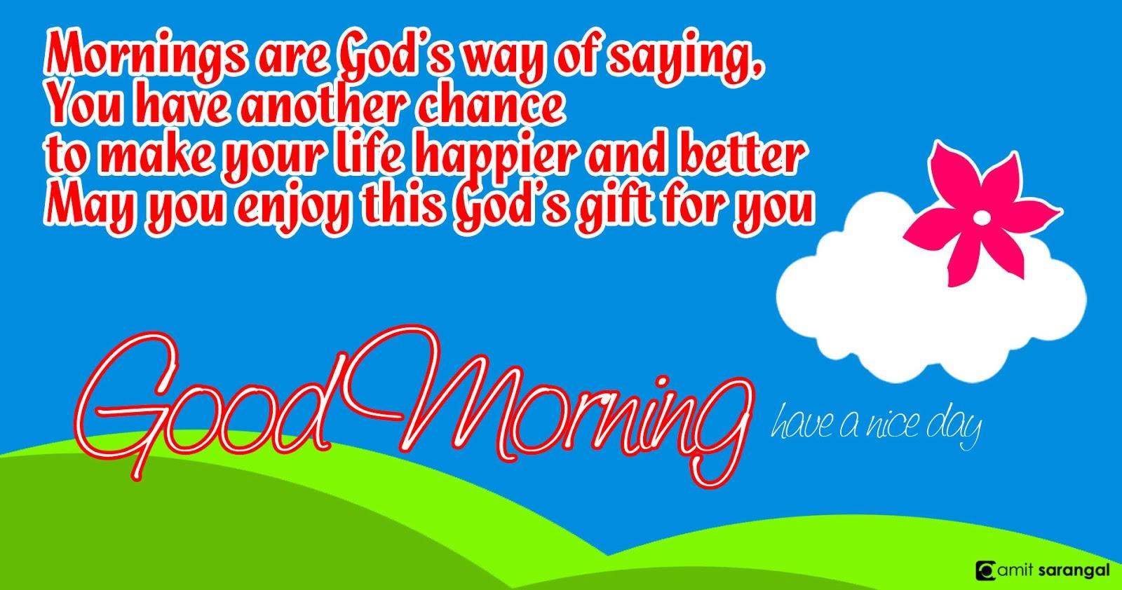 good morning 1 amit sarangal