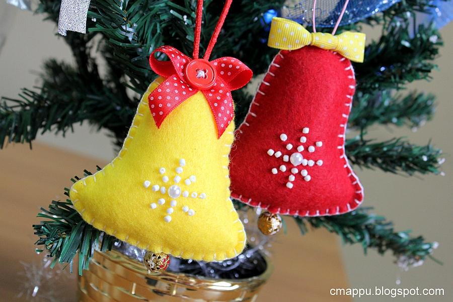 Новогодние игрушки флиса своими руками фото