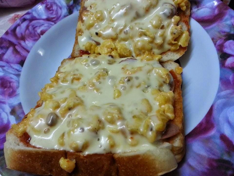 Roti Bakar Cheese Meleleh