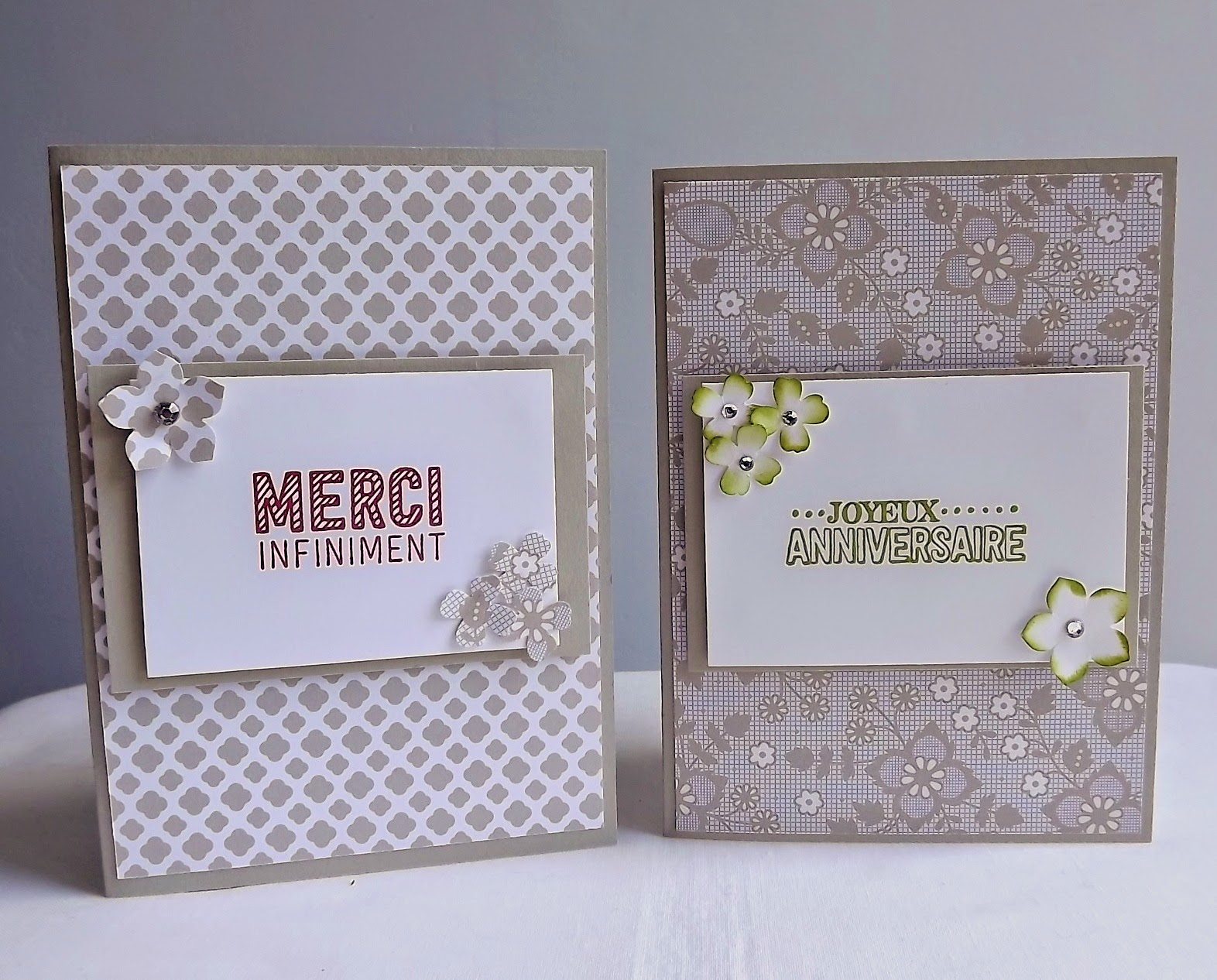 Stampin Up! France Something Borrowed DSP
