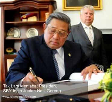 Tidak Lagi Menjabat Presiden, SBY Ingin Jualan Nasi Goreng