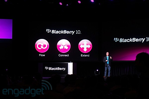 RIM introduces BlackBerry Unit 10 Alpha