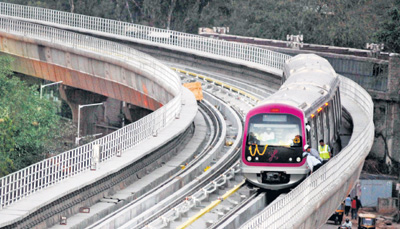 Bangalore metro rail network mapping
