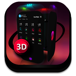 Download Next Launcher Theme Contrastum v2.9.2 Apk